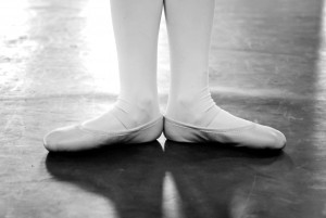 first position of the feet